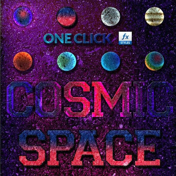 8 Cosmic Photoshop Layer Styles