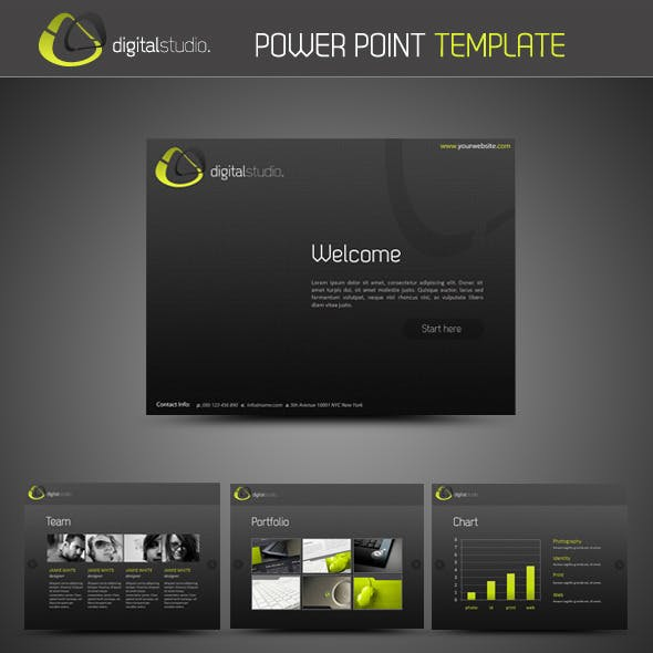 Digital Studio PowerPoint Presentation