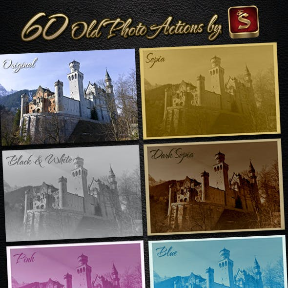 60 Old Photo Actions