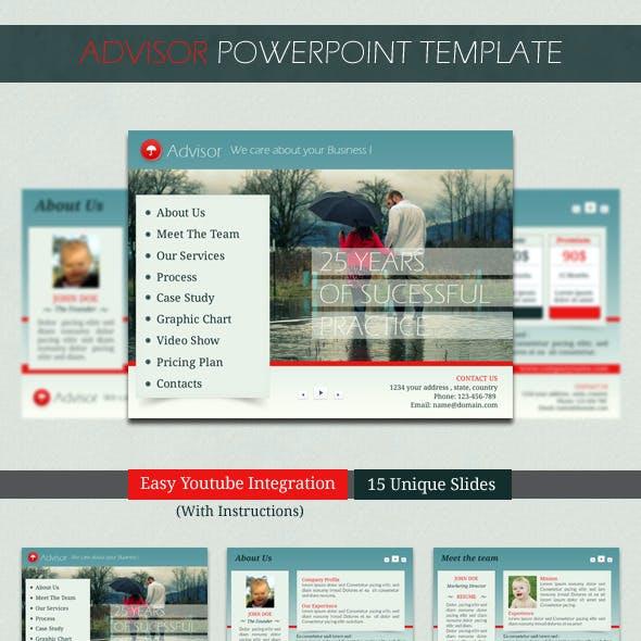 Advisor PowerPoint Template