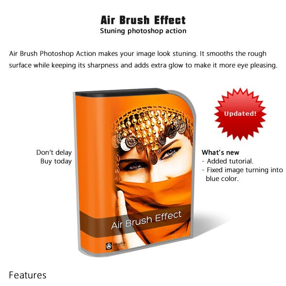 Air Brush Effect Actions