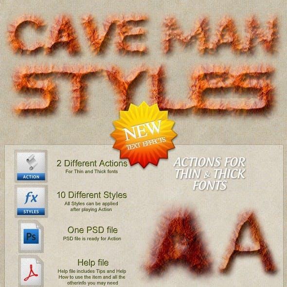Cave Man Styles
