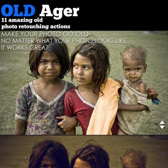 Oldager 11 Powerful Image Processing Action Set