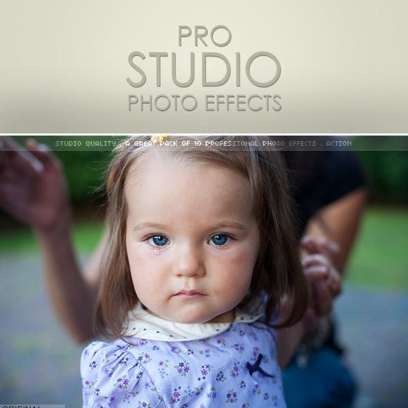 10 Pro Studio Photo Effect Actions
