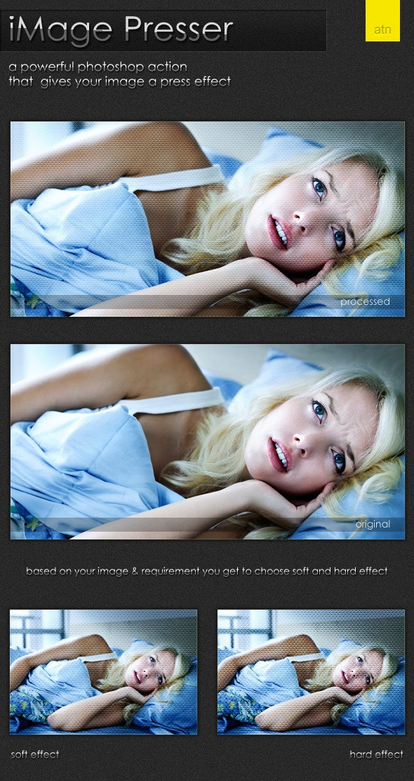 iMage Presser  - Photo Effects Actions