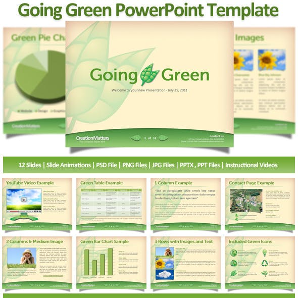 Psd Powerpoint Templates From Graphicriver