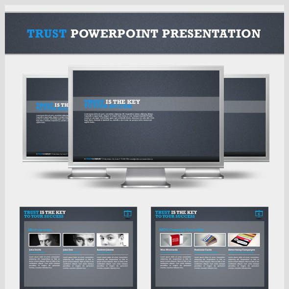 Trust Powerpoint Presentation