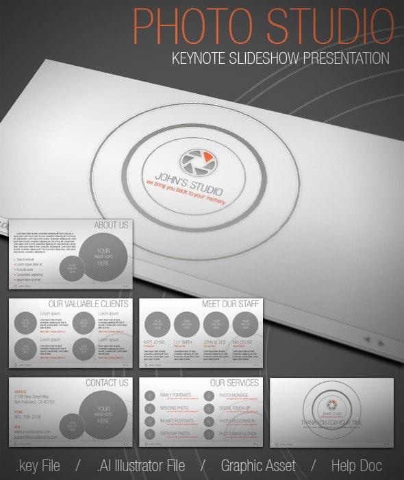 Photo Studio KeyNote Presentation - Business Keynote Templates