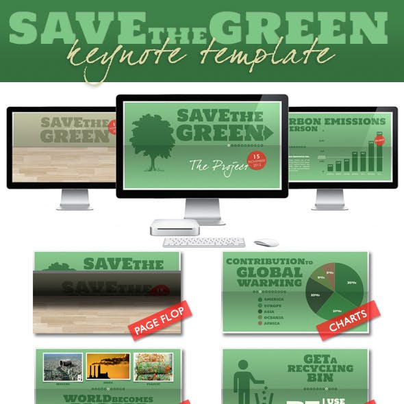Save The Green - Nature Presentation (Full HD)