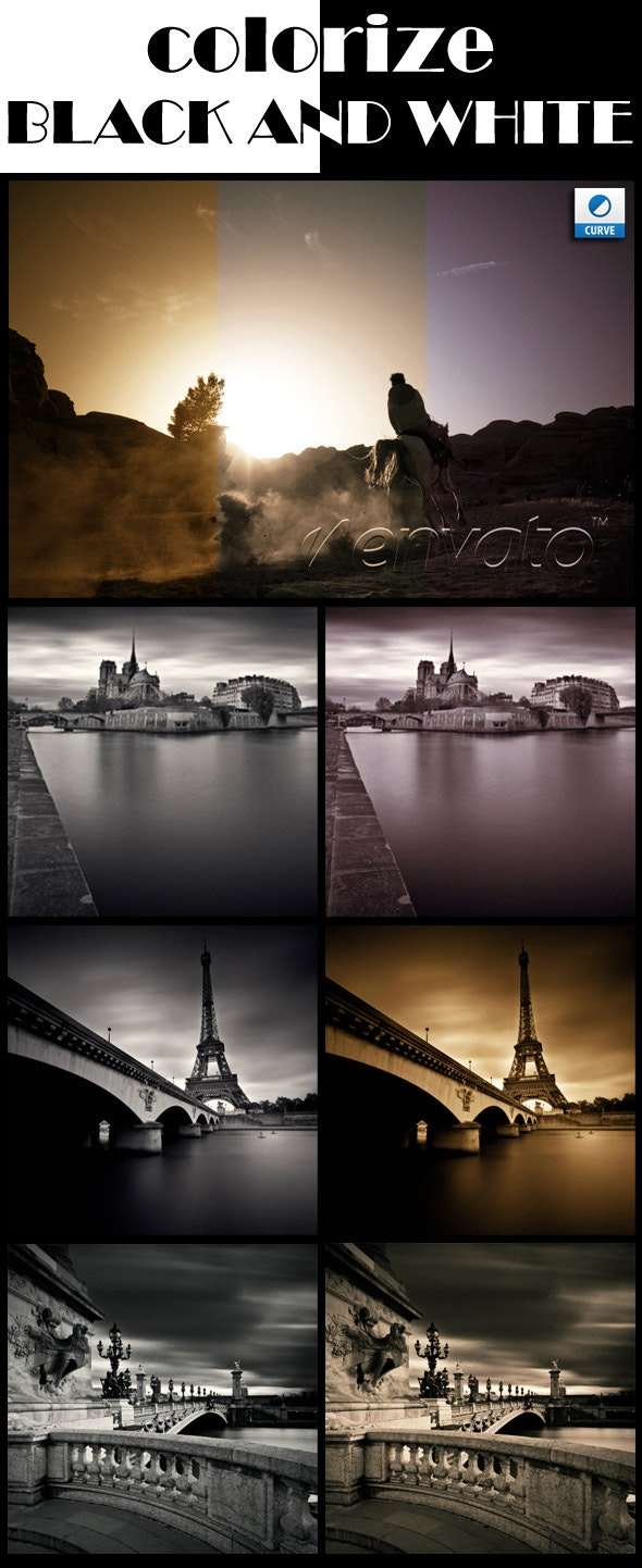 Colorize Black and White Photographies - Photoshop Add-ons