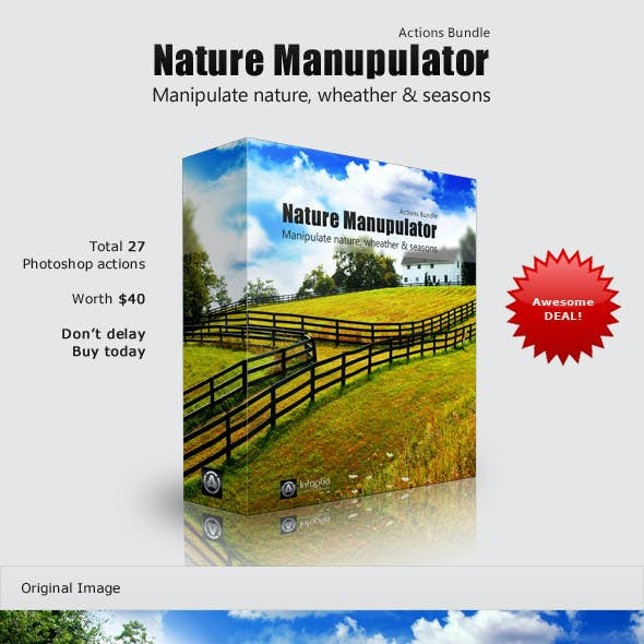 Nature Manipulator Actions Bundle