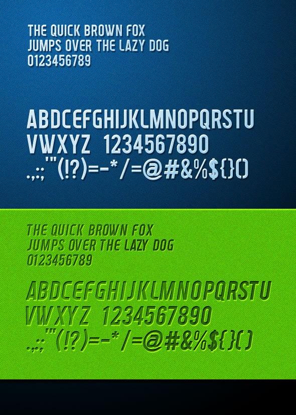 Venderburg TrueType Font - Fonts