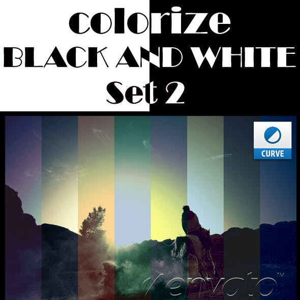 Colorize Black and White Photographies Set 2