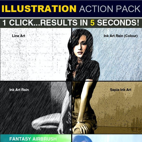 Illustration Action Pack