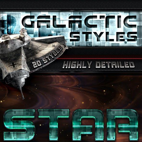 Galactic Photoshop Styles