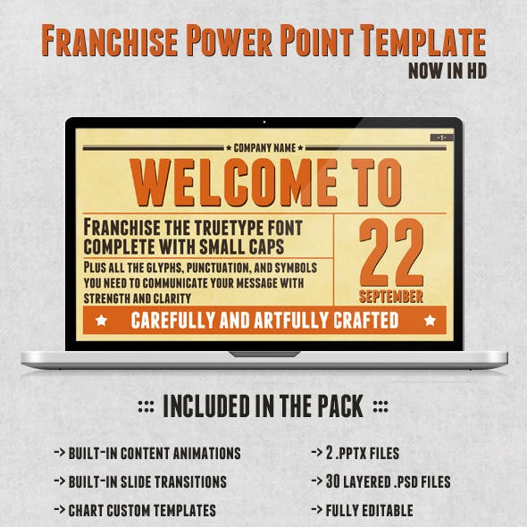 Franchise Power Point Presentation