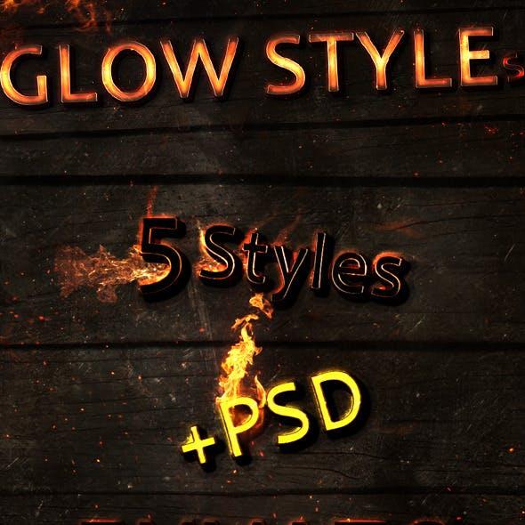 New Text Glow Styles