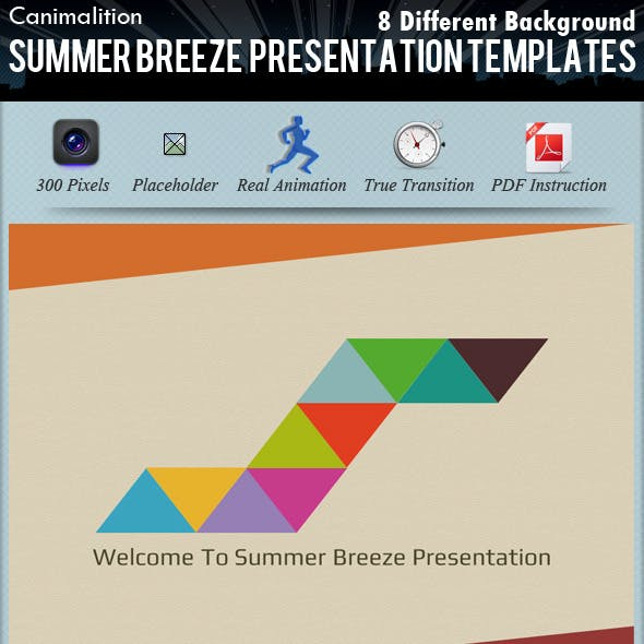 Summer Breeze Presentation Templates