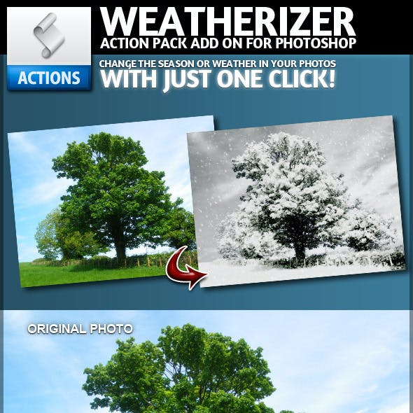 Weatherizer | Photoshop Actions