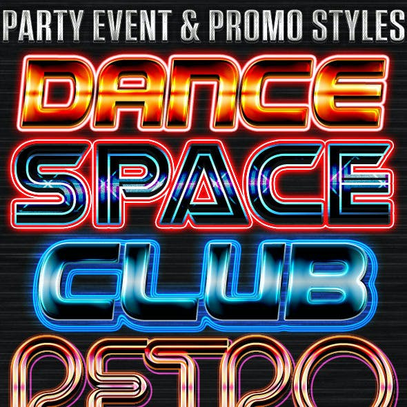 Party Event & Promo Styles