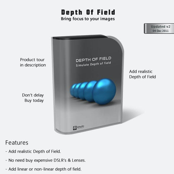Depth Of Field Actions