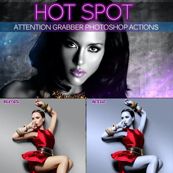 Hot Spot Photoshop Action