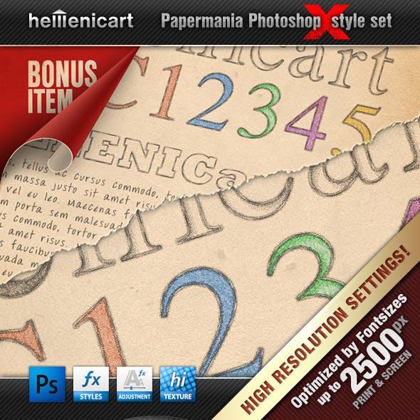Hellenicart PENCIL & CRAYON Style Set