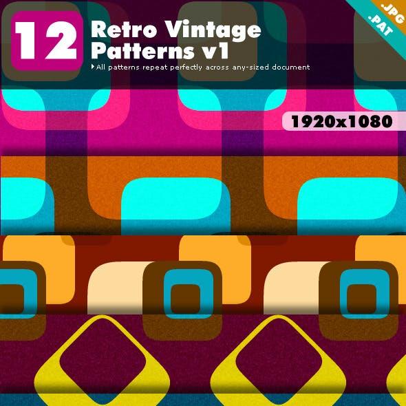 Retro Vintage Patterns v1