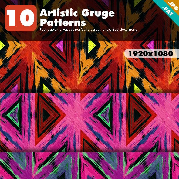 Artistic Grunge Patterns