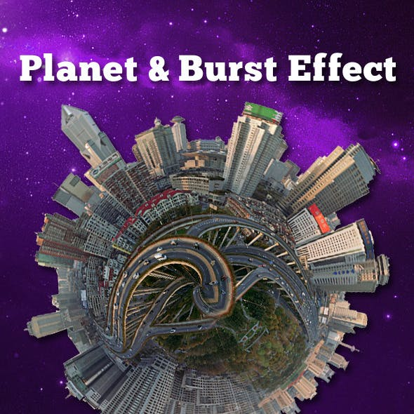 Planet and Burst Effect