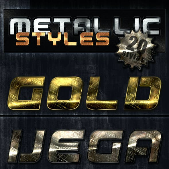 Unique Metallic Styles