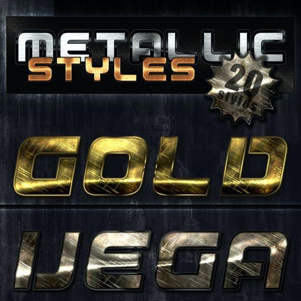 Unique Metallic Styles