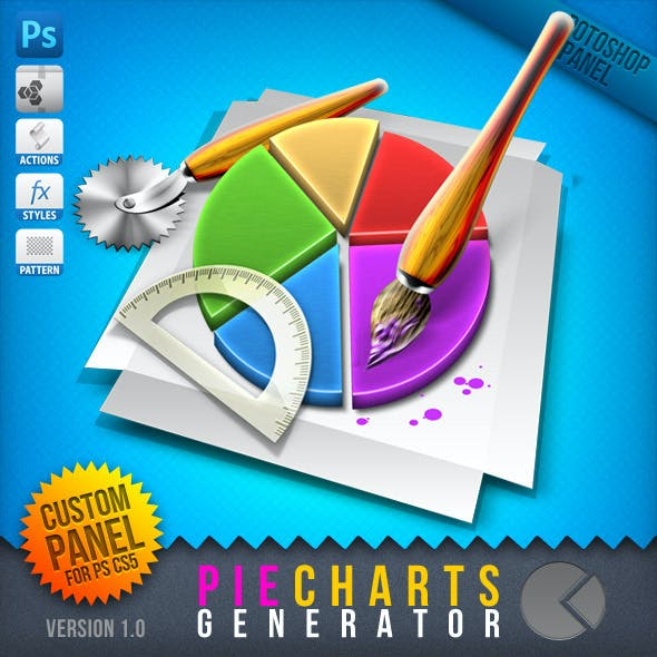 Infographic Tool Series: 3D Pie Charts Generator
