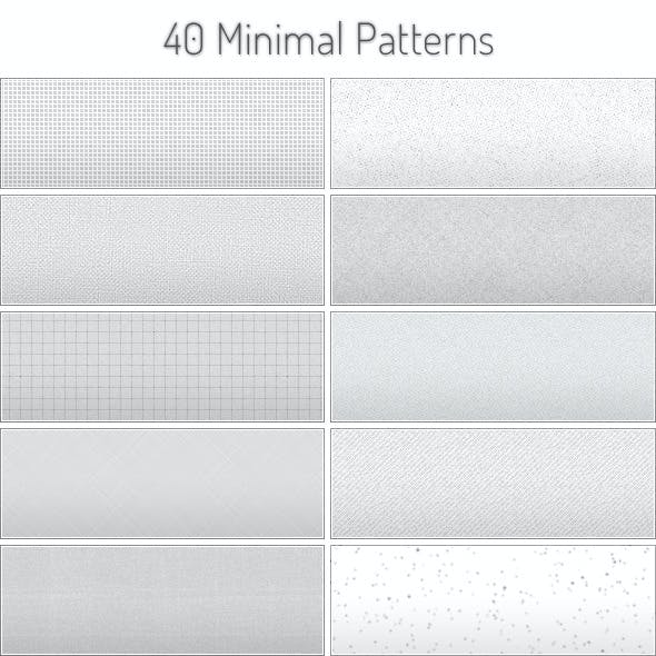 Tileable Minimal Patterns