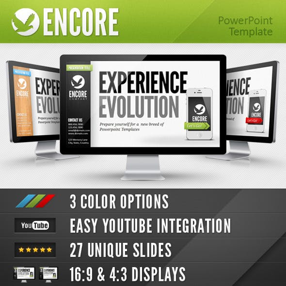 Encore Powerpoint Template