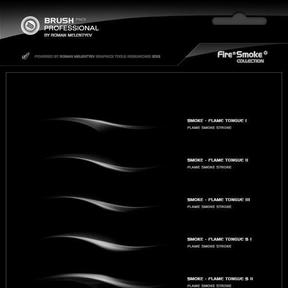 Brush Pack Professional volume I - Fire & Smoke