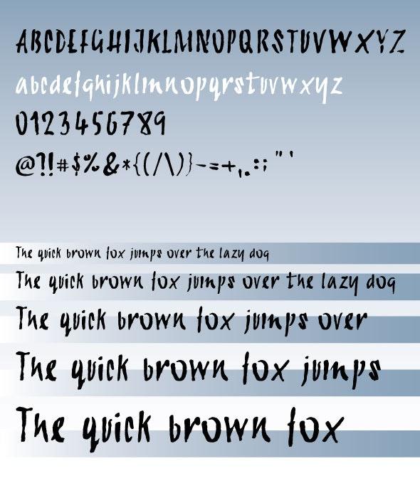 Calligraphy Dana Font - Calligraphy Script
