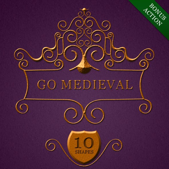 Go Medieval Toolbox [Shapes+Style+Action]