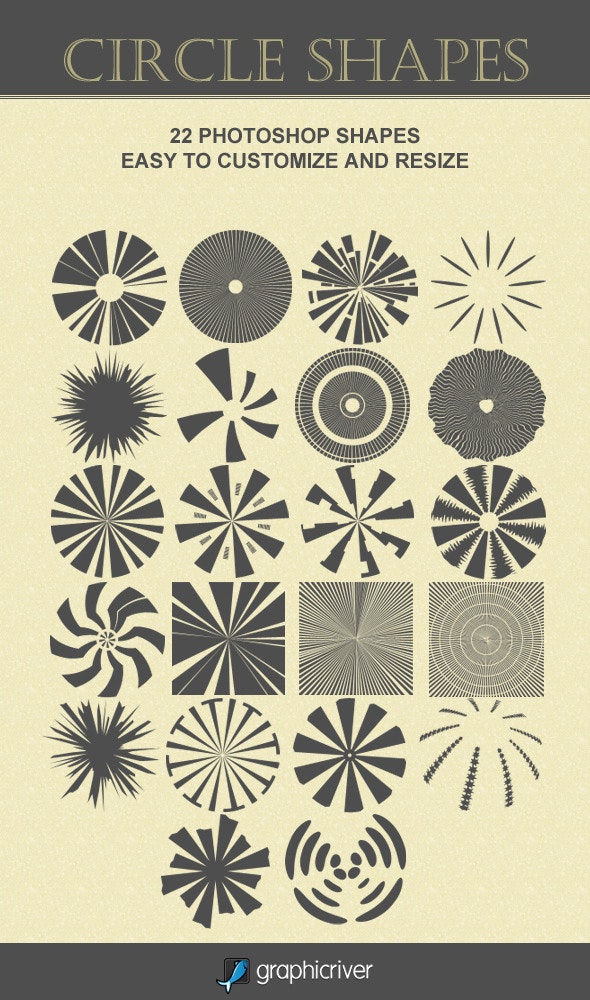 Circle Shapes - Objects Shapes