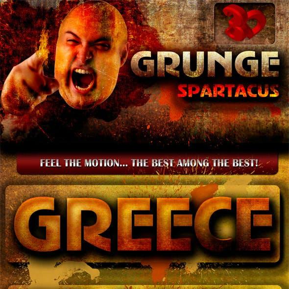 Grunge Spartacus Text Styles
