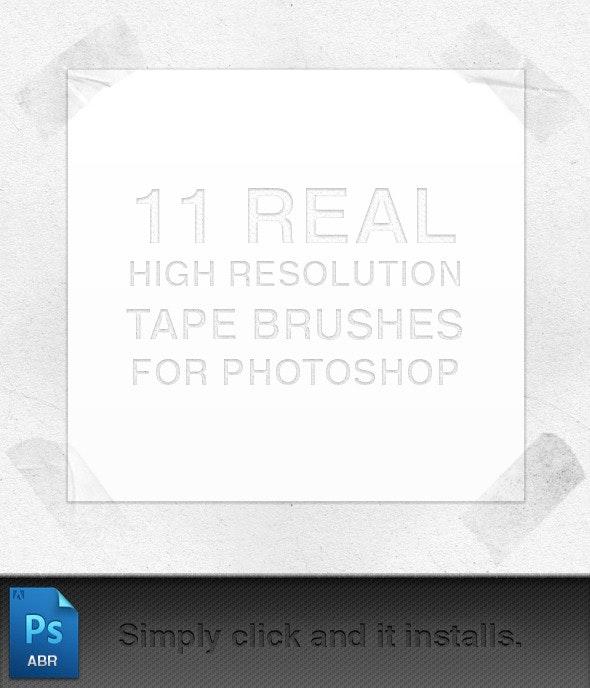 Tape Brushes - Flourishes Brushes