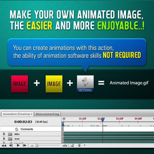 Animated Image Generator - Action