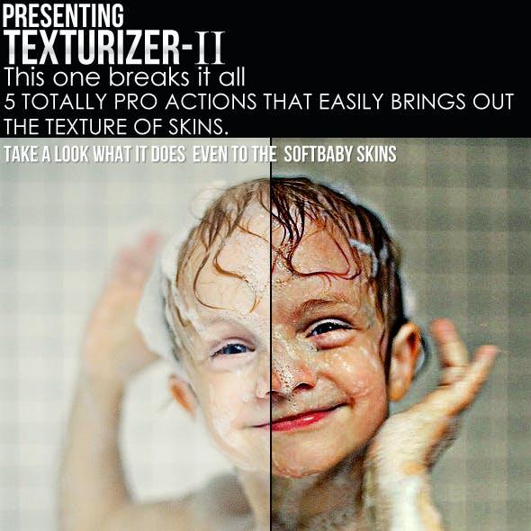 Texturizer- II [5 Hush Skin Retouching Actions]