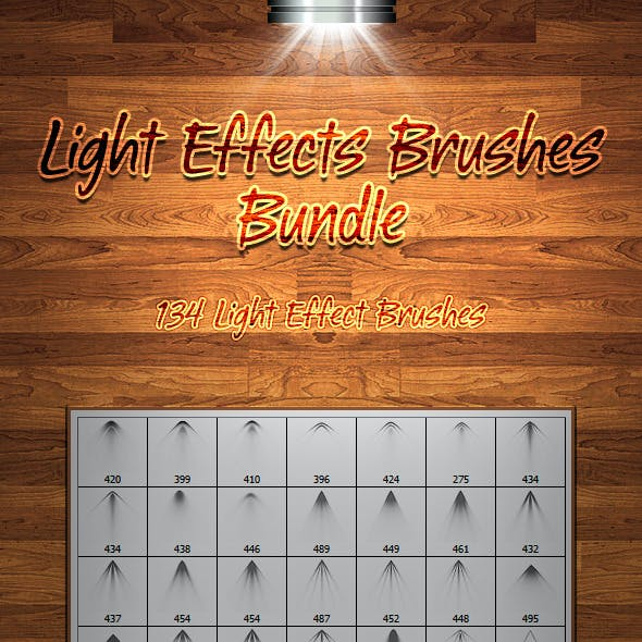 Light Effects Brushes Bundle