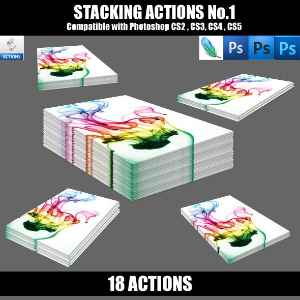 Stacking Actions No.1