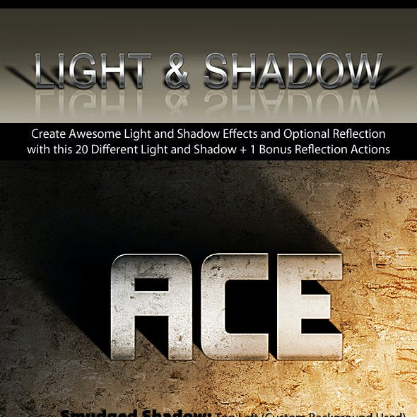 Photoshop Text Effect: Cinematic 3D Light & Shadow