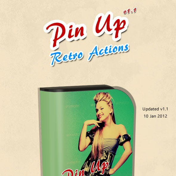Pin-Up Retro Poster Creator