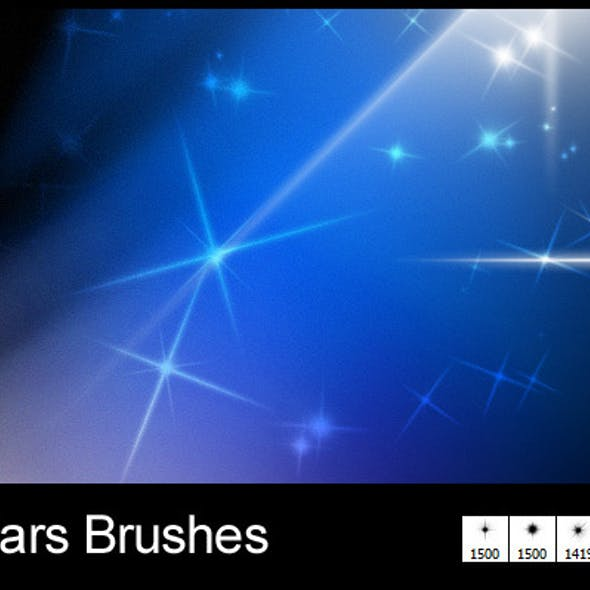 5 New Stars Brushes