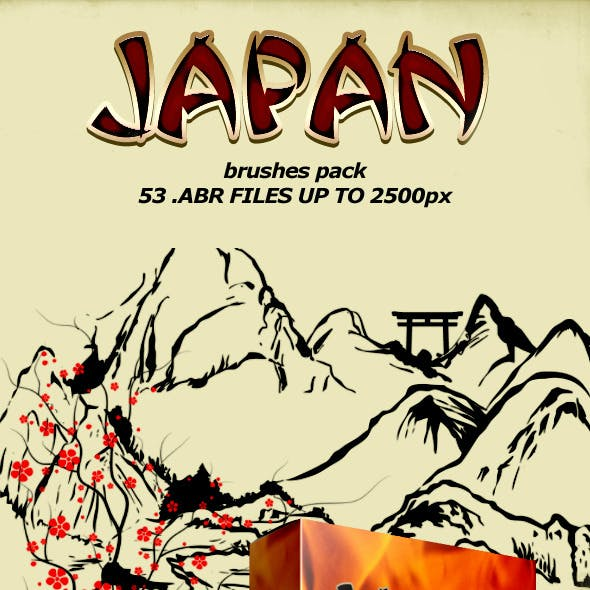 Japan Brushes Pack
