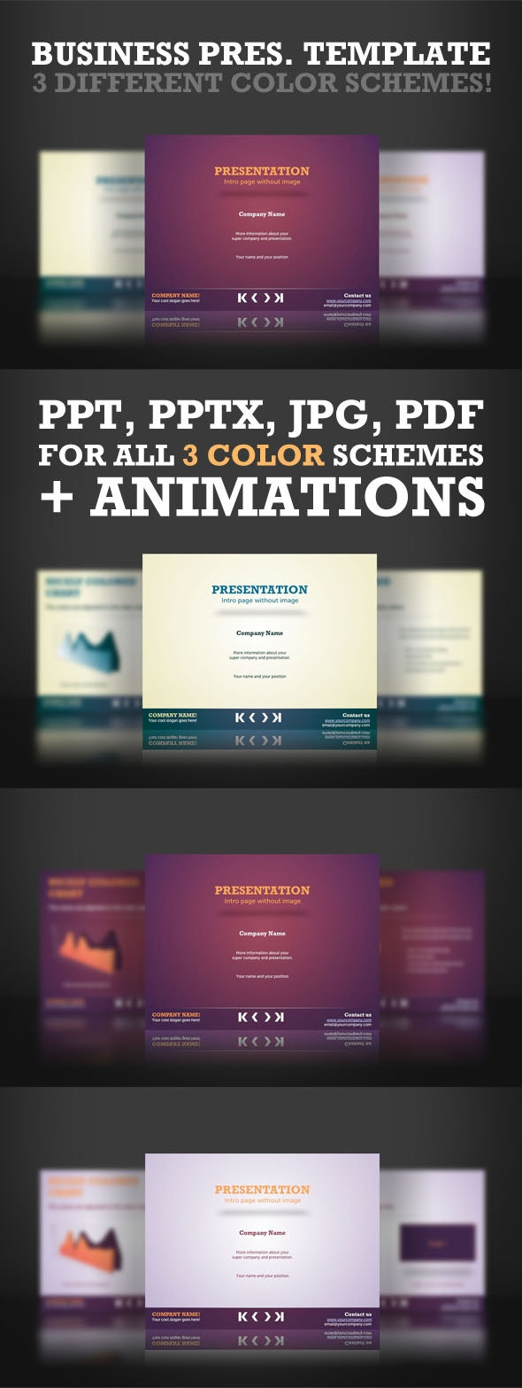 Colorful Powerpoint Templates - PowerPoint Templates Presentation Templates